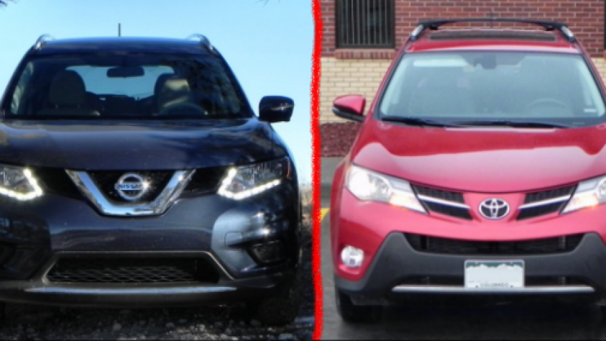 2015 Nissan Rogue vs 2015 Toyota RAV4 – Saturday Showdown