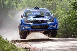 Travis Pastrana was back on form at New England Forest Rally.