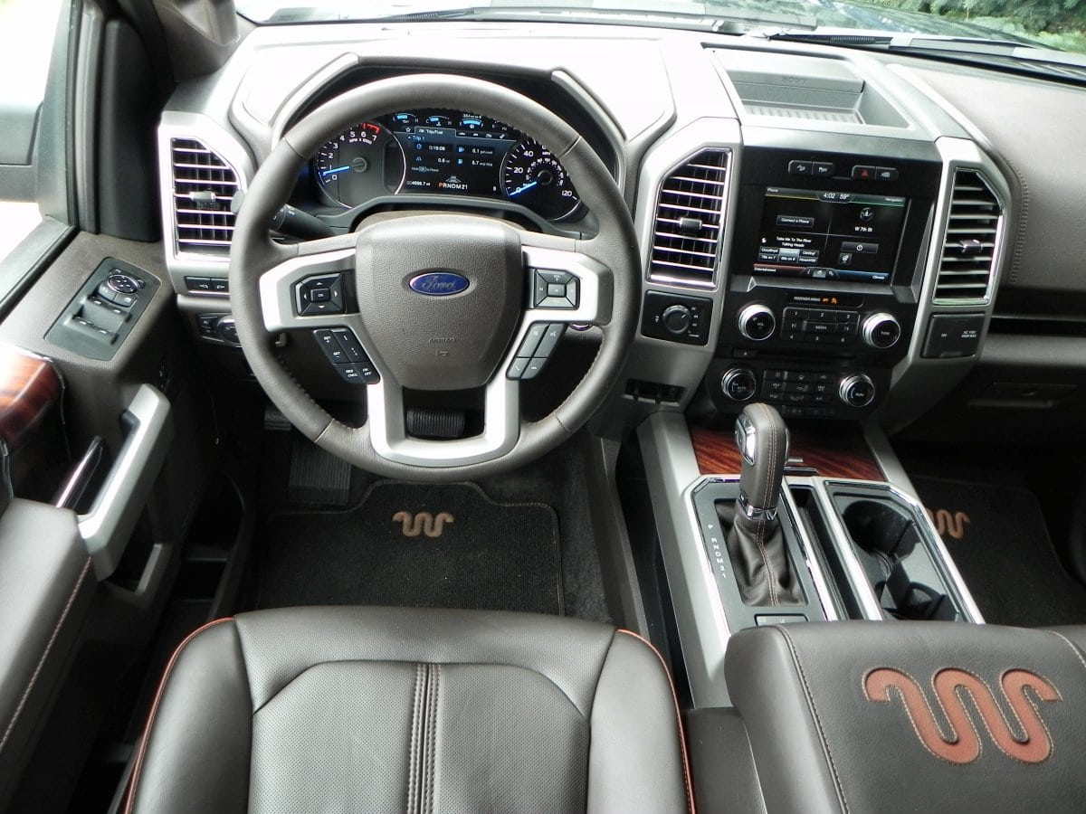2015 F150 King Ranch Interior The Image Kid Has It