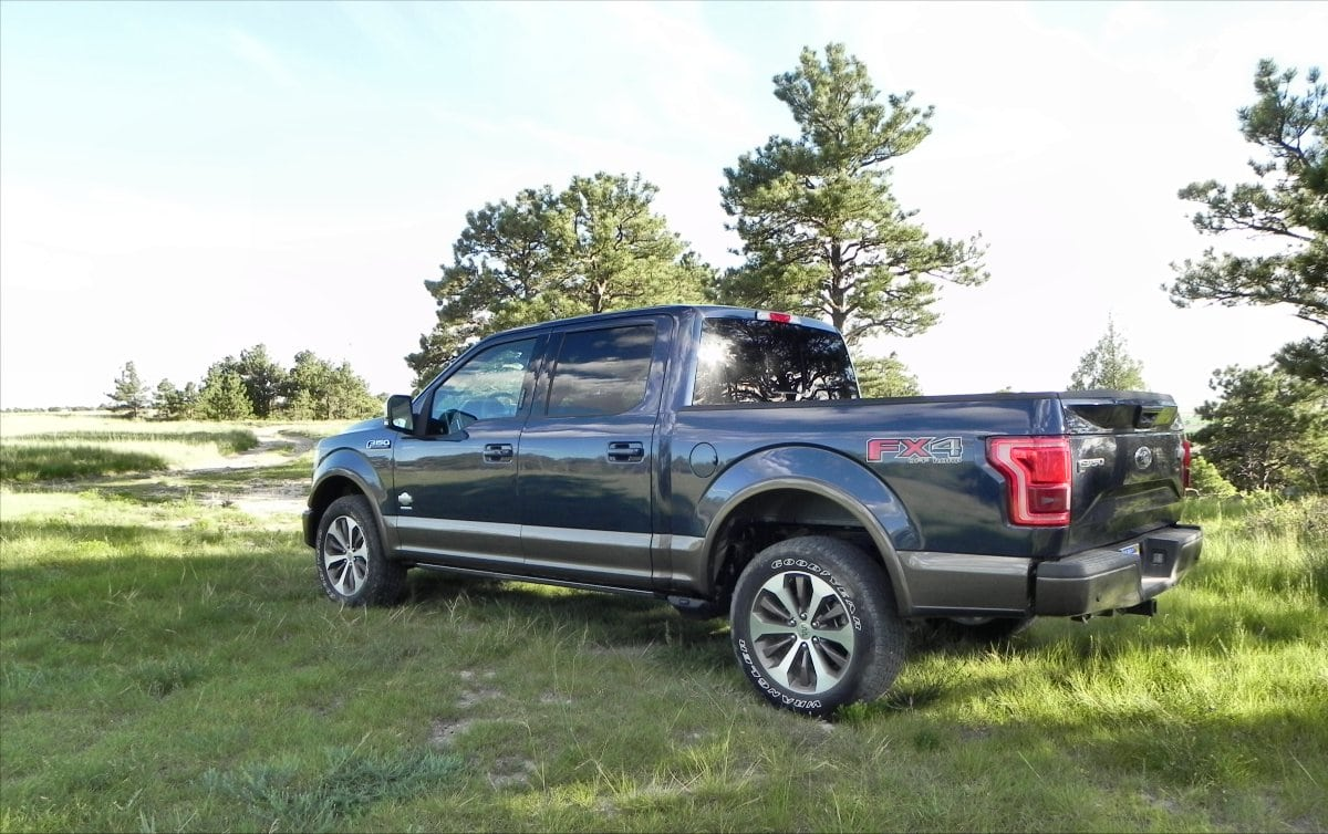 2015 Ford F150 King Ranch is Comfortable Aluminum Muscle