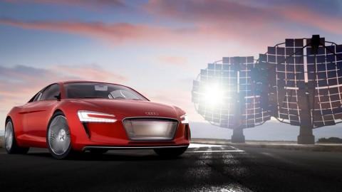 The Audi e-tron Quattro Concept at IAA 2015