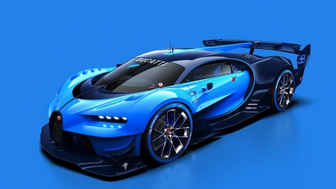 Bugatti Vision Gran Turismo To Debut Live at Frankfurt