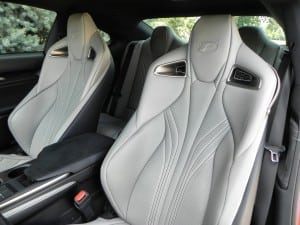 2015 Lexus RC-F - interior 3 - AOA1200px