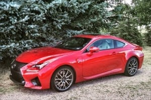 2015 Lexus RC F could be a Contenda