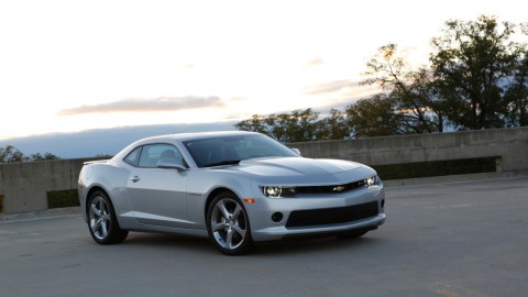 Muscle car mojo: Fifth-generation Camaro rides off into the sunset in a classic way