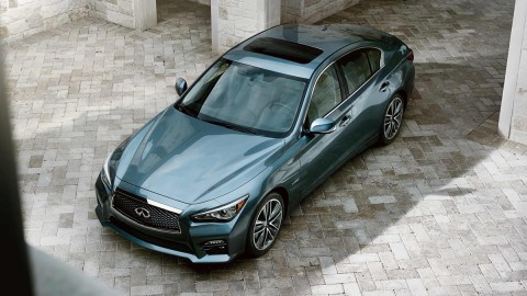 Infiniti Q50 is an attractive, powerful and luxurious sedan that brings joy to the art of driving