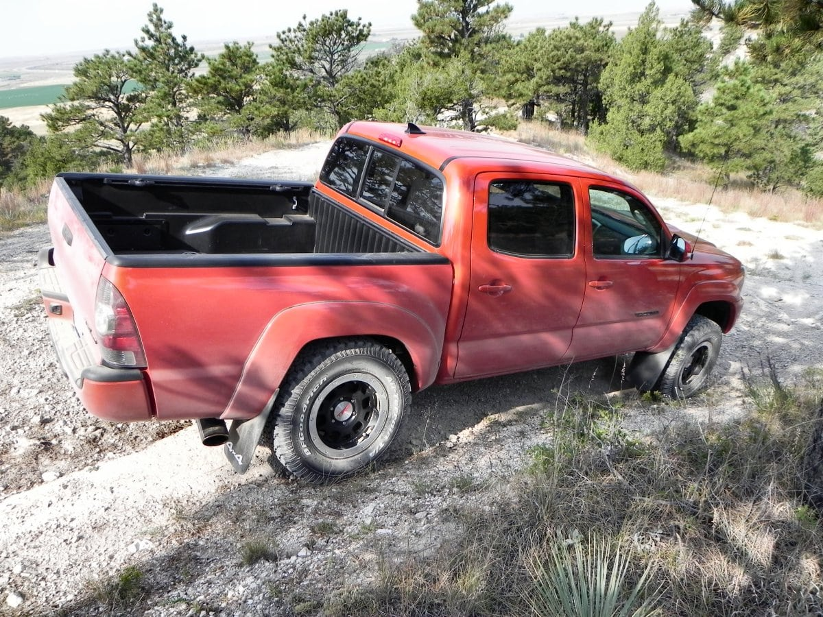 trd toyota the road fast off impression tacoma truck pro lane flex first
