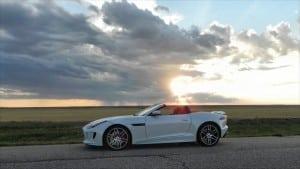 2016 Jaguar F-TYPE R Convertible - sunset 1 - AOA1200px