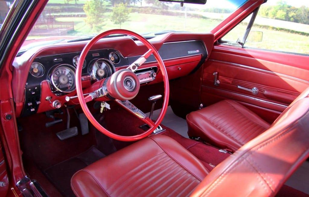 Charles Dance Mustang interior