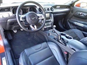 2015 Ford Mustang GT - interior 1 - AOA1200px