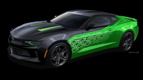 Gen Six Camaro Concepts Shown at SEMA
