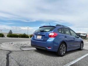 2015 Subaru Impreza Sport - parked 5 - AOA1200px