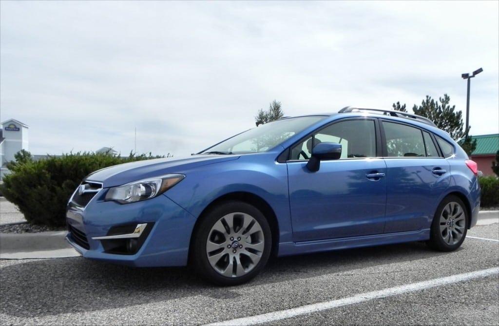 2015 Subaru Impreza Sport - parked 6 - AOA1200px