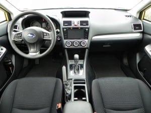 2015 Subaru XV Crosstrek - interior 4 - AOA1200px