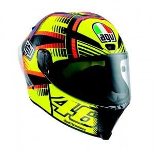 Hitting The Apex - AGV Valentino Rossi Helmet