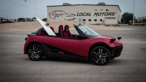 Local Motors Debuts LM3D, World's 1st 3D-printed Car Series