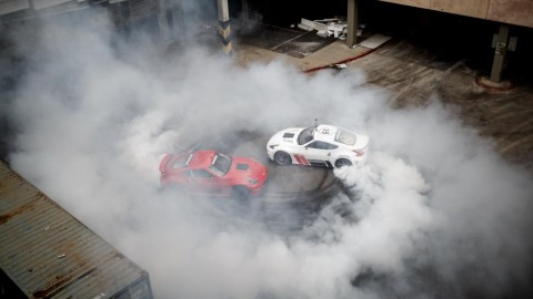 Hoonigan and Nissan Present Black Friday At the Mall, Gymkhana Style