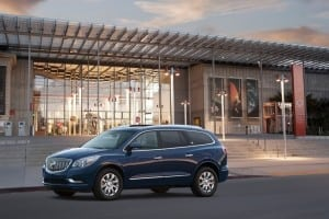 Finding common ground: Buick Enclave differentiates itself from competition with quiet, comfort