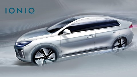 Hyundai Reveals Design Details for IONIQ Concept