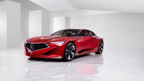 Acura Precision Concept Unveiled at NAIAS