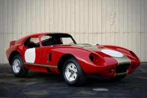 Cobra Daytona in Alan Mann colours will debut at the London Classic Car Show 1