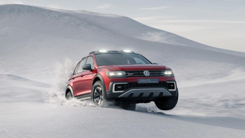 VW Tiguan GTE Active Concept Unveiled at NAIAS