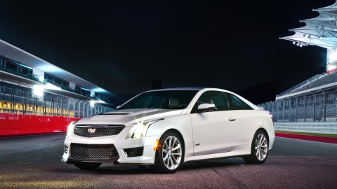 Give me a V . . . Cadillac adds sportiness, power to compact car segment with ATS-V