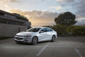 Making a name for itself: Reinvented Chevy Malibu merges new looks, improved driving dynamics with comfort and technology