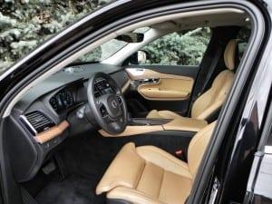 2016 Volvo XC90 - interior 2 - AOA