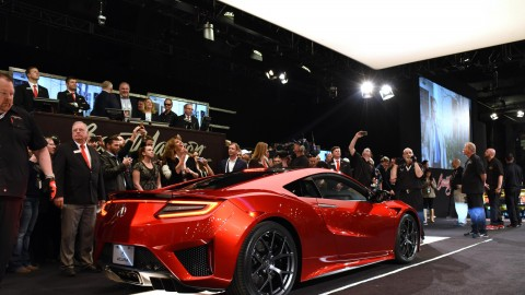 First 2017 Acura NSX Sells At Auction for $1.2M for Charity