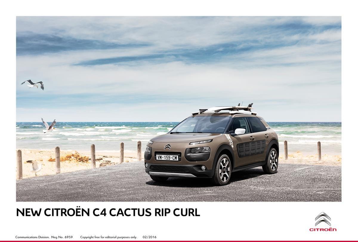 citroen c4 cactus rip curl to debut at geneva carnewscafe. Black Bedroom Furniture Sets. Home Design Ideas
