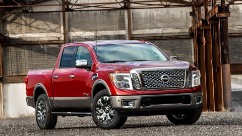 Nissan Titan Truck Unveiled at Chicago