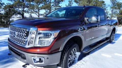 Nissan Titan XD makes big splash in heavy-duty truck segment with Cummins engine, improved looks