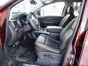 2016 Nissan Titan XD - interior 2 - AOA