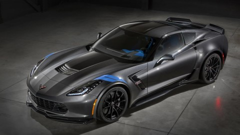 First 2017 Chevrolet Corvette Grand Sport to auction for cancer charity