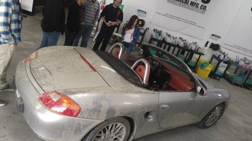 The Boxster after the video