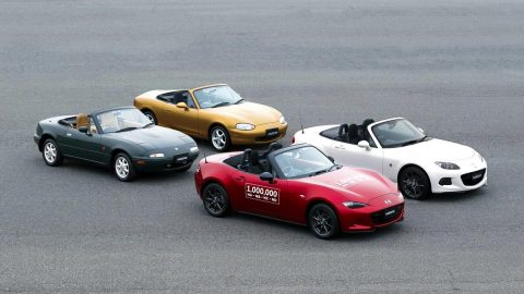 Mazda MX-5 Reaches 1 Millionth Milestone