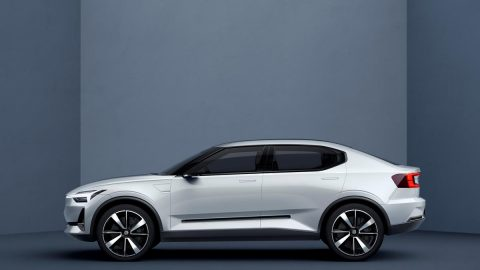 Volvo Shows Off Its New Range of Small Cars