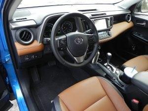 2016 Toyota RAV4 Hybrid - interior 2 - AOA1200px