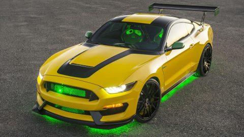 Ford Old Yeller Mustang Inspired by P-51D Revealed