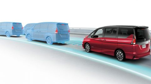 Nissan Serena Gets ProPilot Tech for Autonomous Drive