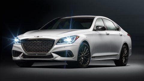 Genesis Debuts 2018 G80 Sport Trim