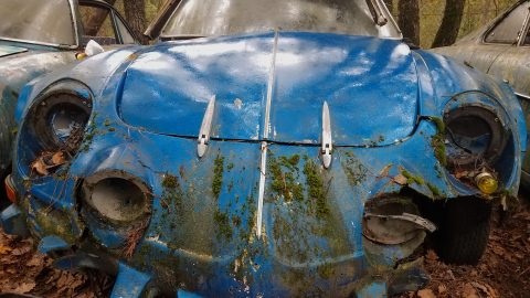 VIDEO: The Almost Forgotten Gombert Car Collection Barn Find Cemetery