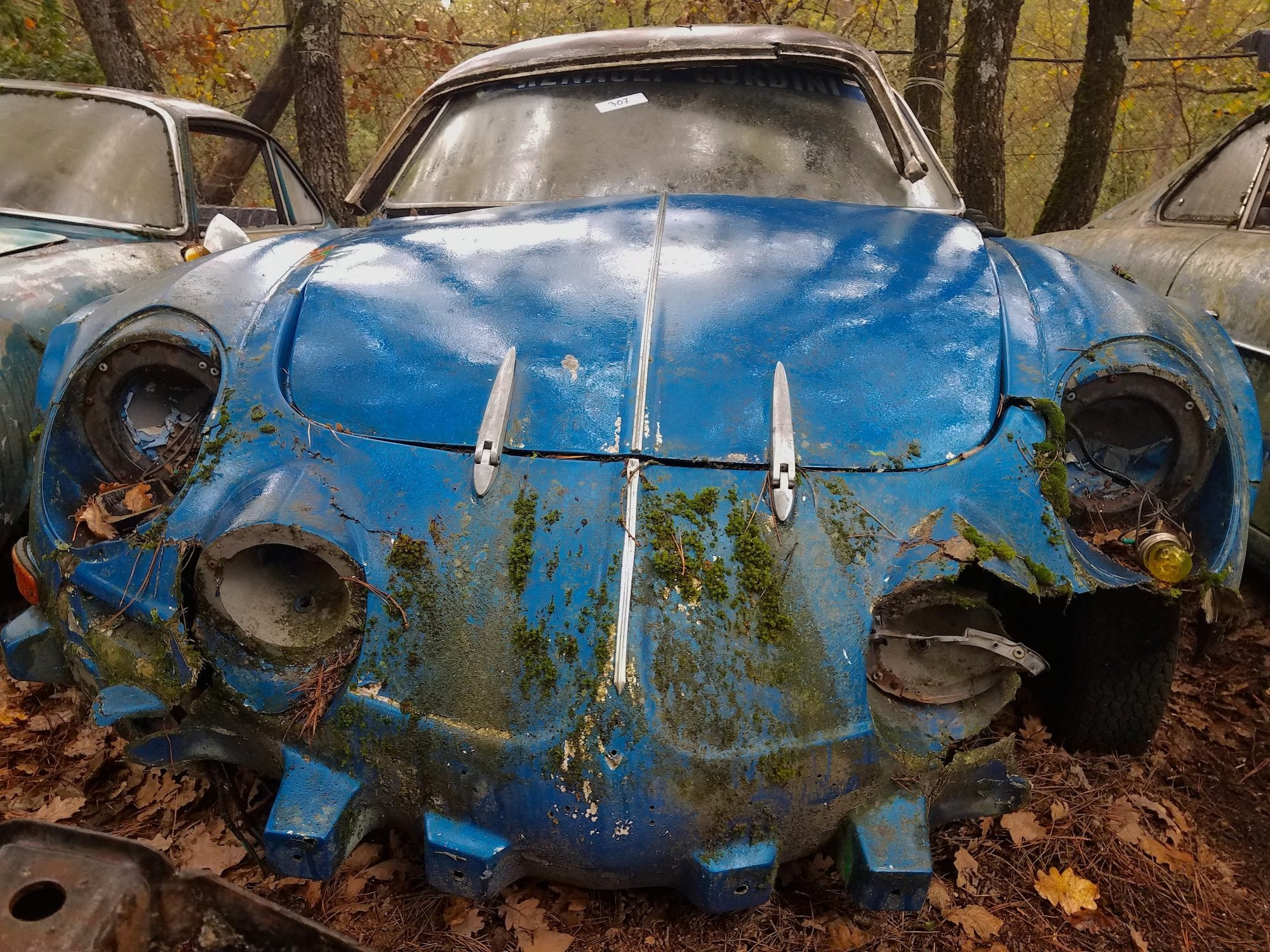 VIDEO The Almost Forgotten Gombert Car Collection Barn Find Cemetery