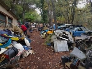 Gombert Car Collection Cemetery