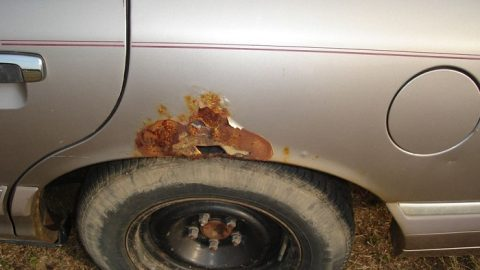 What to Do When You Spot Rust on Your Car