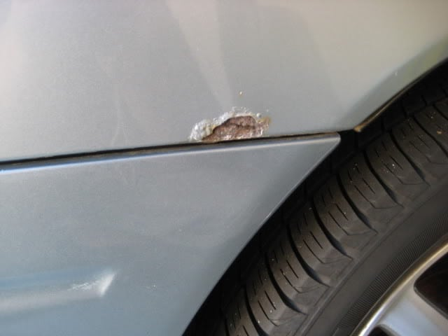 What To Do When Car Paint Is Eaten Away