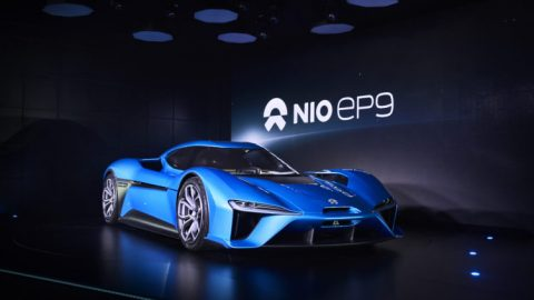 NIO EP9 Launched by NextEV Billed As Fastest Car on Nurburgring