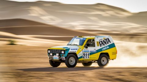 Nissan's Iconic 1987 Paris-Dakar Rally Car Rides Again