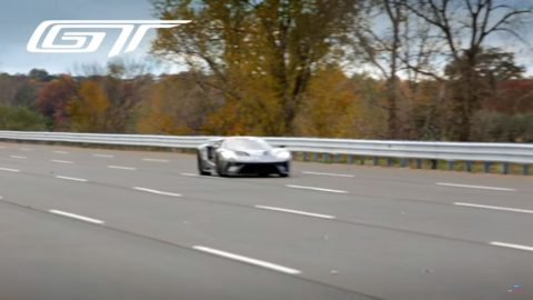 Ford GT High-speed Testing on Video
